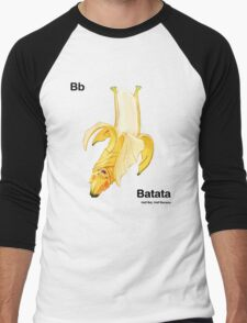 Bb - Batata // Half Bat, Half Banana Men's Baseball ¾ T-Shirt