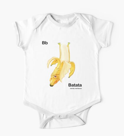 Bb - Batata // Half Bat, Half Banana One Piece - Short Sleeve