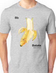 Bb - Batata // Half Bat, Half Banana Unisex T-Shirt