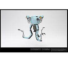 Mr Handy - 3D Model  Photographic Print