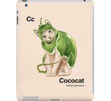 Cc - Cococat // Half Cat, Half Coconut iPad Case/Skin