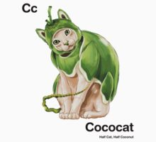 Cc - Cococat // Half Cat, Half Coconut One Piece - Long Sleeve