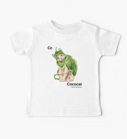 Cc - Cococat // Half Cat, Half Coconut Baby Tee
