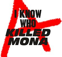 Killed Mona by frustoboy