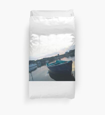 .Boats In The Arm. Duvet Cover