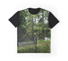 By the pond from A Gardener's Notebook Graphic T-Shirt