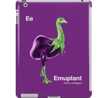 Ee - Emuplant // Half Emu, Half Eggplant iPad Case/Skin