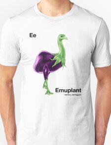 Ee - Emuplant // Half Emu, Half Eggplant Unisex T-Shirt