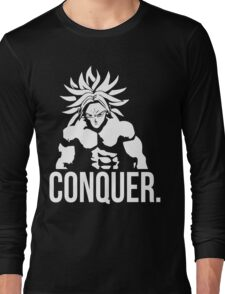 CONQUER - Broly As Mr. Olympia Long Sleeve T-Shirt