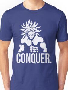 CONQUER - Broly As Mr. Olympia Unisex T-Shirt