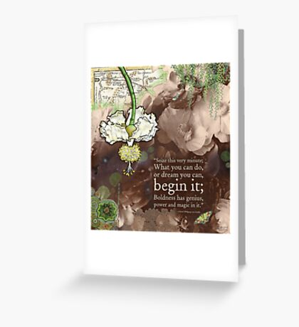 Begin It... Greeting Card