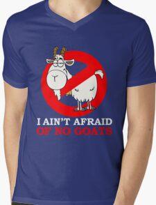 I AIN'T AFRAID OFON GOATS Mens V-Neck T-Shirt