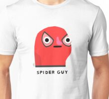 Spider guy (black text) Unisex T-Shirt