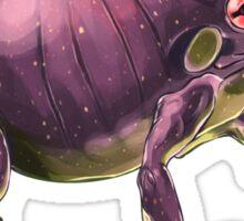 Ff - Frig // Half Frog, Half Fig Sticker