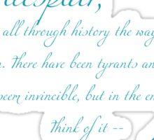 Mahatma Gandhi Quote Sticker