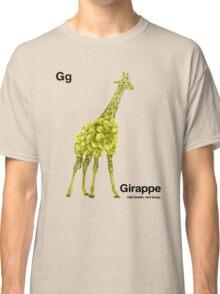 Gg - Girappe // Half Giraffe, Half Grape Classic T-Shirt