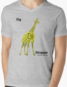 Gg - Girappe // Half Giraffe, Half Grape Mens V-Neck T-Shirt
