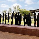 Freedom Fighters Statue - Freedom Square - Soweto by Robert Kelch, M.D.