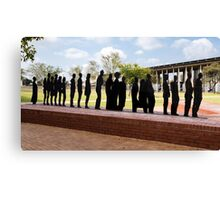 Freedom Fighters Statue - Freedom Square - Soweto Canvas Print
