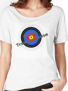 Public Transportation Target Women's Relaxed Fit T-Shirt
