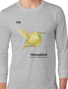 Hh - Honeybird // Half Hummingbird, Half Honeydew Melon Long Sleeve T-Shirt