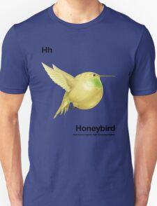 Hh - Honeybird // Half Hummingbird, Half Honeydew Melon T-Shirt
