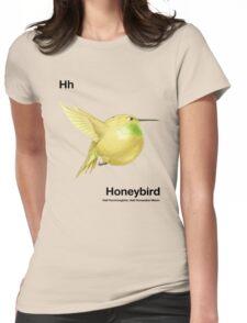 Hh - Honeybird // Half Hummingbird, Half Honeydew Melon Womens Fitted T-Shirt