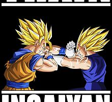 Goku and Vegeta by HTM77