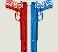 "Long Weekend ""Happy Songkran"" Pistol by bkkbros"