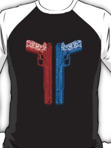 """Long Weekend """"Happy Songkran"""" Pistol T-Shirt"""
