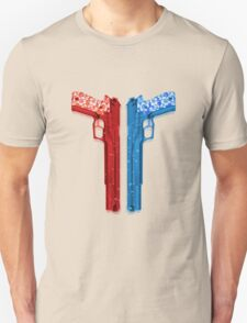 "Long Weekend ""Happy Songkran"" Pistol Unisex T-Shirt"