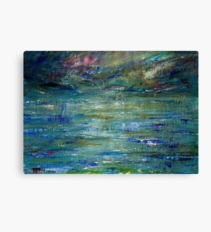 Abstract Seascape #1 Canvas Print