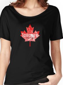 Toronto Blue Jays Canada Women's Relaxed Fit T-Shirt