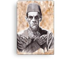 Imhotep (The Mummy) Canvas Print