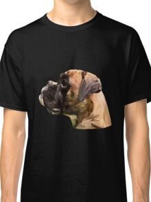 Boxer low poly. Classic T-Shirt