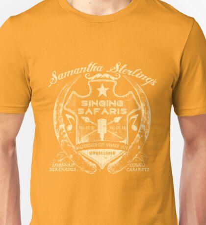 Samantha Sterling Singing Safaris Unisex T-Shirt