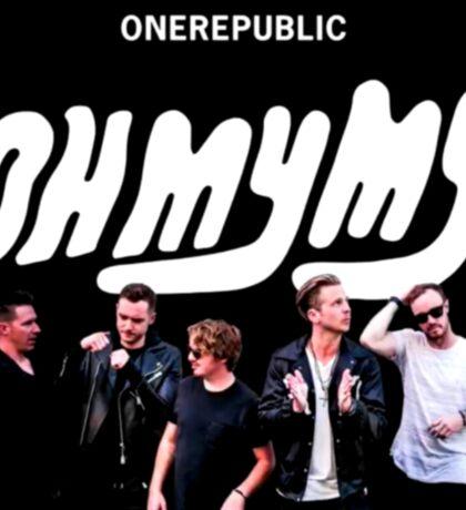 One Republic - Oh My My Artwork Sticker