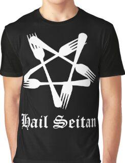 Hail Seitan Graphic T-Shirt