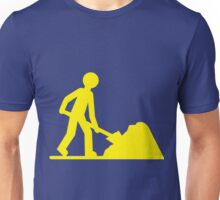 Yellow work Unisex T-Shirt