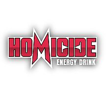 Silicon Valley Homicide Energy Drink Photographic Print