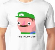 The Plunger (black text) Unisex T-Shirt