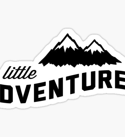 Little Adventurer Sticker