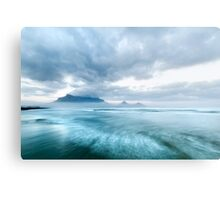 Stormy Morning Dawn at Lagoon Beach, Cape Town Metal Print