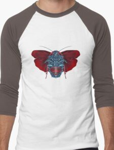 Supermang // Mang of Stealth Men's Baseball ¾ T-Shirt