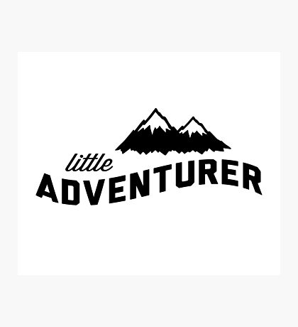 Little Adventurer Photographic Print