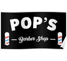 Luke Cage 'Pop's Barber Shop' Print Poster