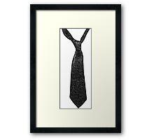 My tie Framed Print