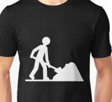 White worker Unisex T-Shirt