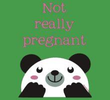 Not pregnant panda Ai Hin by dubukat