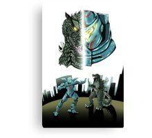Godzilla X Gipsy Danger Canvas Print